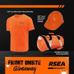 Win 1 of 3 Hard Hats, T-Shirts and Duffle Bags from RSEA Safety Australia