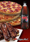 Living Social Deal: Pizza Hut 3 Mias + 5 Pack of Ribs + 1.25Lt Pepsi Max for $15
