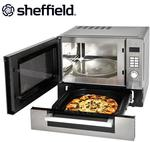 Sheffield 25L Microwave with Pizza Drawer $159.95 Inc Delivery at Deals Direct