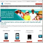 Buy Selected Telstra Items Online and Get a $25 Sportscraft Gift Voucher