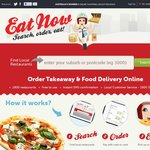 $5 off Your Next Delivery Order This Weekend @ EatNow