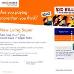 $50 Visa Gift Card for Rolling Your Super into ING Direct's New Living Super Product