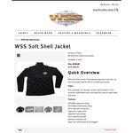 WSS Softshell Long Sleeve Jacket For $99 (Usually $120)