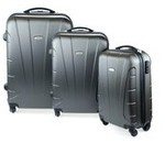 Kogan 3-Piece Lightweight Hardside Spinner Luggage Set for $122