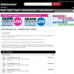 Grand Designs Live: Complimentary Double Passes - Sydney 18-20 October, Melbourne 25-27 October