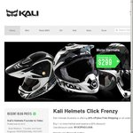 Kali Helmets 20% OFF FREE SHIPPING on All Stock