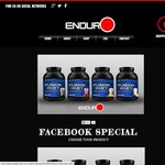 Enduro Supplements - Platinum Whey 4x 1kg for $115 Delivered 100% Whey Protein Isolate