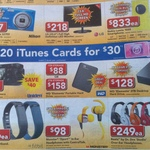 2x $20 iTunes Cards for $30 @ Harvey Norman