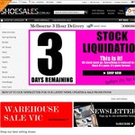Womens Shoe Liquidation Sale - Fashion Shoes Direct to Public - Melbourne Warehouse or Online