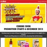 Coles Unreal Movie Deal