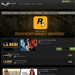 [Steam] Rockstar Games Weekend - Eg. GTA IV Complete US$7.49