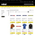 Several National Soccer Team Jersey $49.99 (Save $50) with Free Shipping @ Rebel Sport