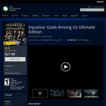 [PS4 - US PS+ req'd] Injustice: Gods Among Us Ultimate $8.40 and Lego Marvel Super Heroes $10.50