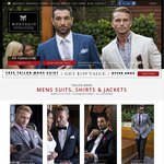 FREE Tailor Made Shirt Worth $159 with Your 1st Pure Wool Tailor Made Mens Suit