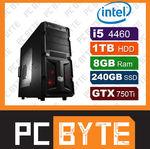 System UPSIZE - i5-4460, Z87, 8GB RAM, 240GB SSD+1TB HDD, GTX750Ti, Corsair 750W - $899 FREESHIP