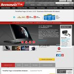 "Lenovo ThinkPad Yoga - i7, 12.5"" Full HD Display, 8GB 128 SSD & Digitiser Pen - $1699 Delivered"