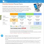 Spintel - Free Set up and SIM Delivery on SIM-Only 4G Mobile Plans (Save $25)