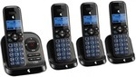 4x Telstra 9850 DECT Phones & Answering Machine $46 @ Harvey Norman (Save $116)