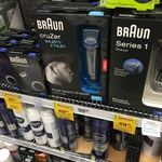 1/2 Price Braun Shavers ($49.50) @ Woolworths (Brighton VIC)
