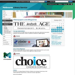 FREE Choice Magazines Online (Downloadable via Flipster App