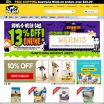 13% Off Using Coupon 'WEEN13' | My Pet Warehouse - Saturday 31st Only
