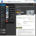 AmEx Platinum Charge Card 100,000 Bonus Rewards Points ($1200 Annual Fee & $100,000+ Annual Income)