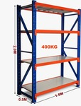 Metal Shelving Unit - $122 + Free Melbourne Metro Delivery @ United Storage