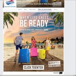 Win a $5000 Flight Centre Gift Card & 2 Suitcases or 1 of 16 Suitcases from American Tourister