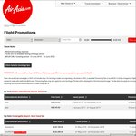 AirAsia MegaSale: Fares from Australia from $95, O/S Domestic from $4 (eg Kuala Lumpur Return Perth $169, Melb $272, Syd $272)