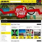 JB Hi-Fi 20% off CDs and Vinyl