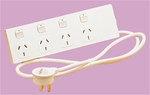 HPM 4 Outlet Power Board Switched with Surge Protection $13.90 (Originally $19.98) @ Bunnings