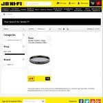Kenko Slim Smart Circular Polariser Filter 77mm JB Hi-Fi $19