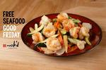 Free Seafood Meal at Wok'd on Good Friday with Facebook Like (SE Melbourne)