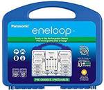 Eneloop Power Pack: Advanced Battery Charger, 8 AA, 2 AAA, 2 C and 2 D Spacers - US$36.12 (~AU$48) Delivered @ Amazon