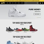 20% off (Orders over $99USD) @ Eastbay