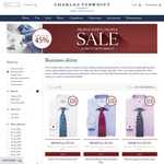 Charles Tyrwhitt Shirts - $35 Each for Limited Range (or 4 Shirts for $220 for Most Shirts)