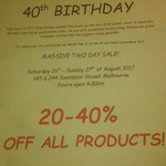 20% to 40% off Everything at Mind Games Melbourne (26/8 - 27/8)