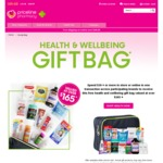 Free Health & Wellbeing Giftbag with $39 Spend on Participating Brands at Priceline