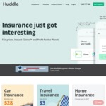 Huddle Car Insurance $50 Credit by Referral for New Members