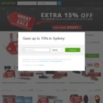 Groupon 15% off Selected Goods