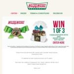 Win 1 of 3 Charlesworth Nuts & Krispy Kreme Voucher Prize Packs Worth $119.70 from Krispy Kreme SA