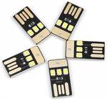 5x USB LED Mini Flashlights US $0.01 Delivered @ Rosegal