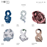 Hand Block Printed Scarves from $25, use code Free Shipping in Australia Site Wide @ Motifs by Mamta