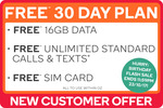 Free Kogan Mobile Extra Large Prepaid Voucher Code (30 Days | 16GB) @ Kogan, New Customers Only