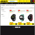 Garmin Forerunner 235 (Black/Grey, Red & Frost Blue) $249 (RRP $469) @ JB Hi-Fi/Harvey Norman