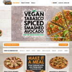 $10 off Order @ Pizza Capers (Min Order $24.95 Pick up, $35 Delivery), Plus Other Codes