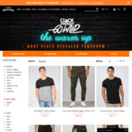 CLICK FRENZY - Hallensteins - ALL Chinos $29.99 | ALL Shorts $29.99 | Shirts & Polos $29.99 + More Deals