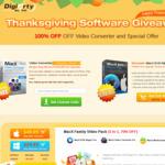 Thanksgiving Giveaway - Free Licensed Copy of MacX Video Converter Pro V6.2.0 ($50 Valued)