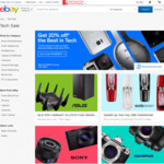 20% off Selected Stores @ eBay (Futu, Dell, Grays, Allphones, Sony + More)