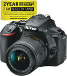 Nikon D5600 Single VR Lens Kit $663.20 (after 10% off eBay & $100 Cashback) @ The Good Guys eBay